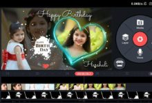 Photo of Create Birthday Video With Name And Photo By Kinemaster | Birthday Green Screen Video Maker